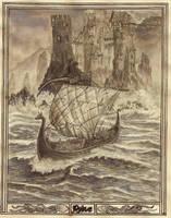 Greyjoy's Pyke by Bodach