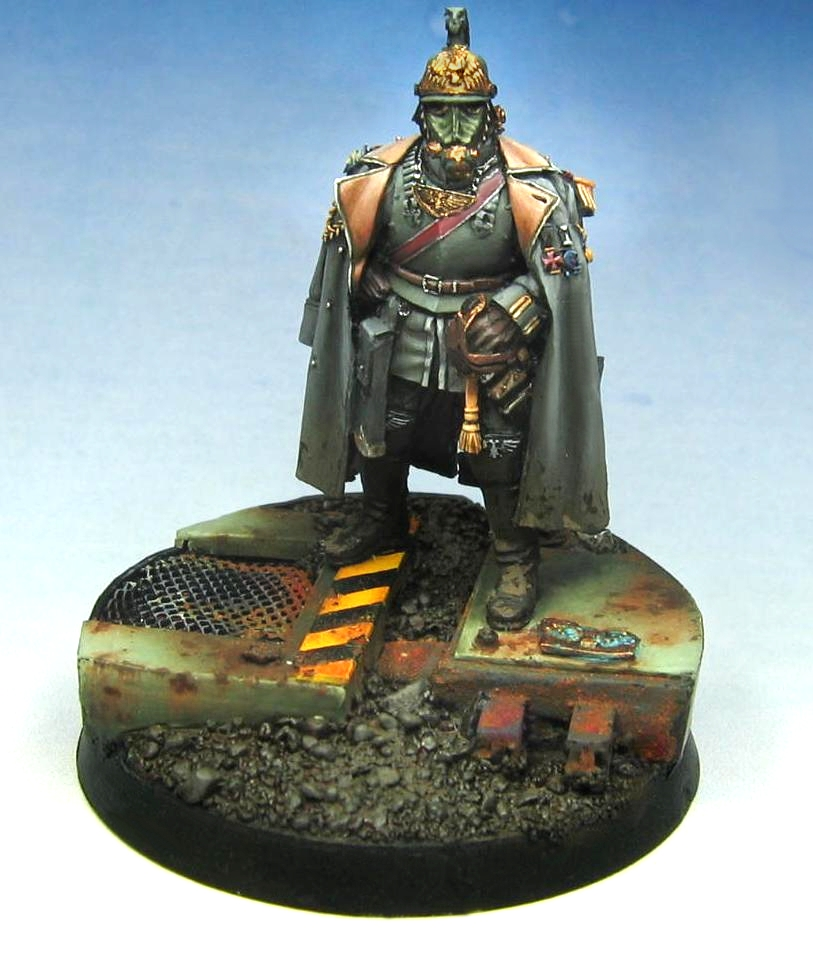 Death Korps of Krieg Commander by m-o-r-t