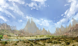 Oasis: Landscape