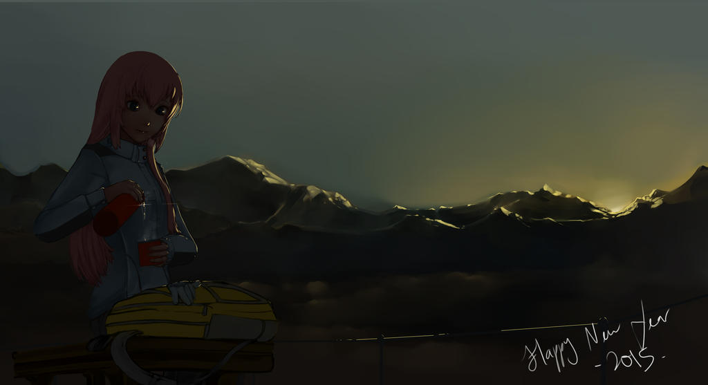 New Year First Sunrise by lordless