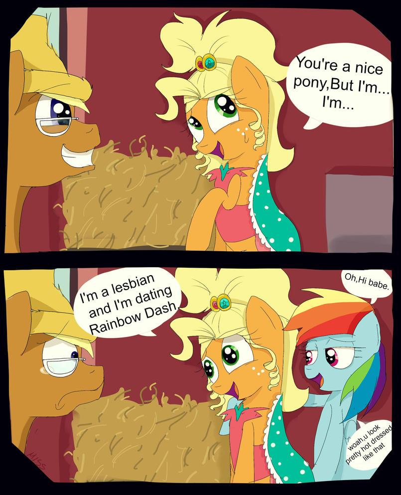 You're a nice pony,But... by MissPolycysticOvary