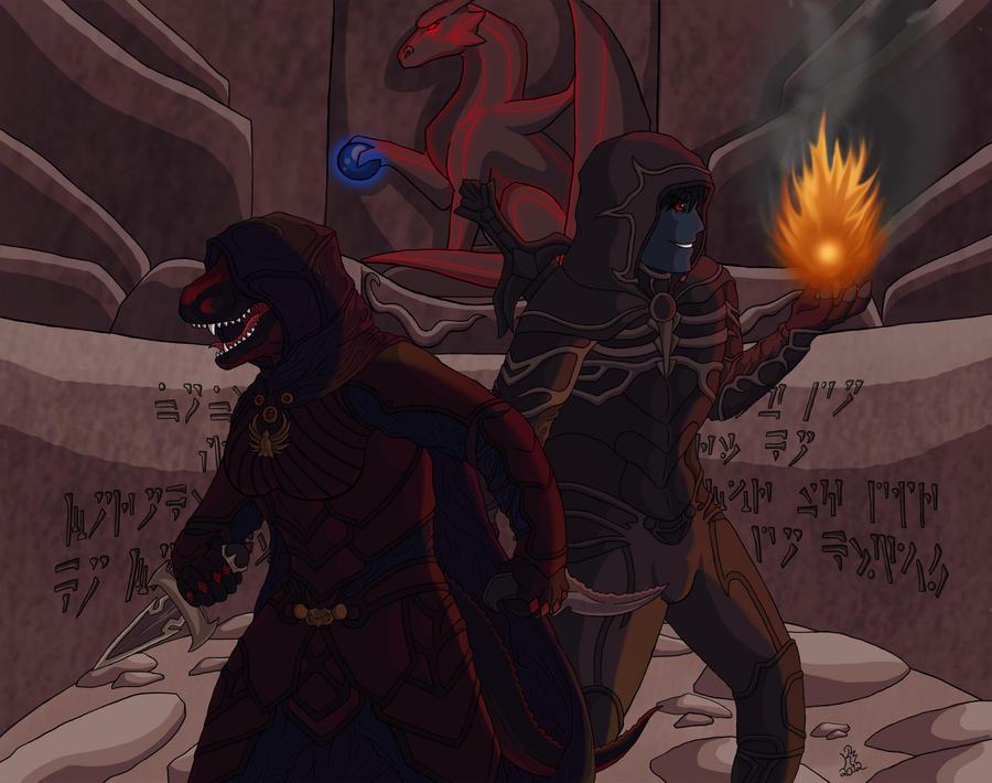 Dovahkiin Assassins by KillerWolf1020