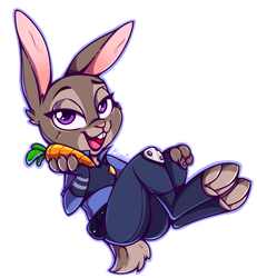 That's 'Officer Hopps' To You! by TheSoleil
