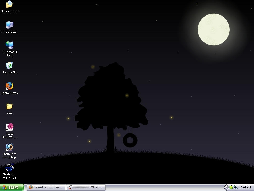 My desktop by herbrokentoy