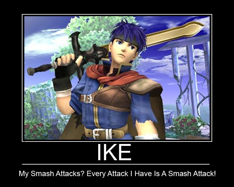 SSB Brawl: Ike