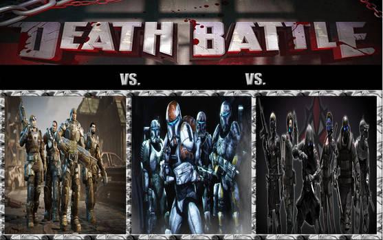 Death Battle - Delta Squad Melee a Trois