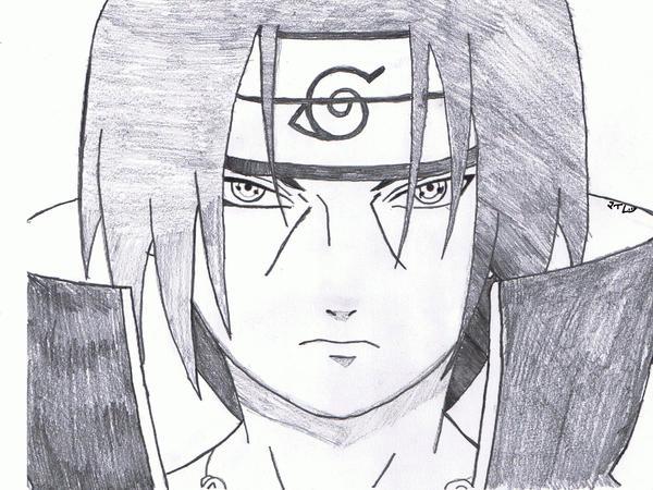 Itachi Uchiha-Drawing ...