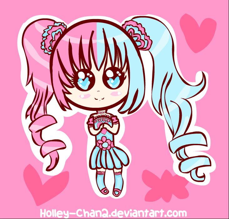 Kawaii Holley-Chan Chibi by Holley-Chan2