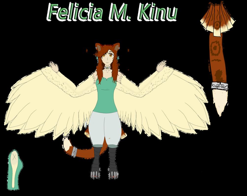 Felicia Kinu - Reference - PLEASE READ BELOW by LevairTaivas