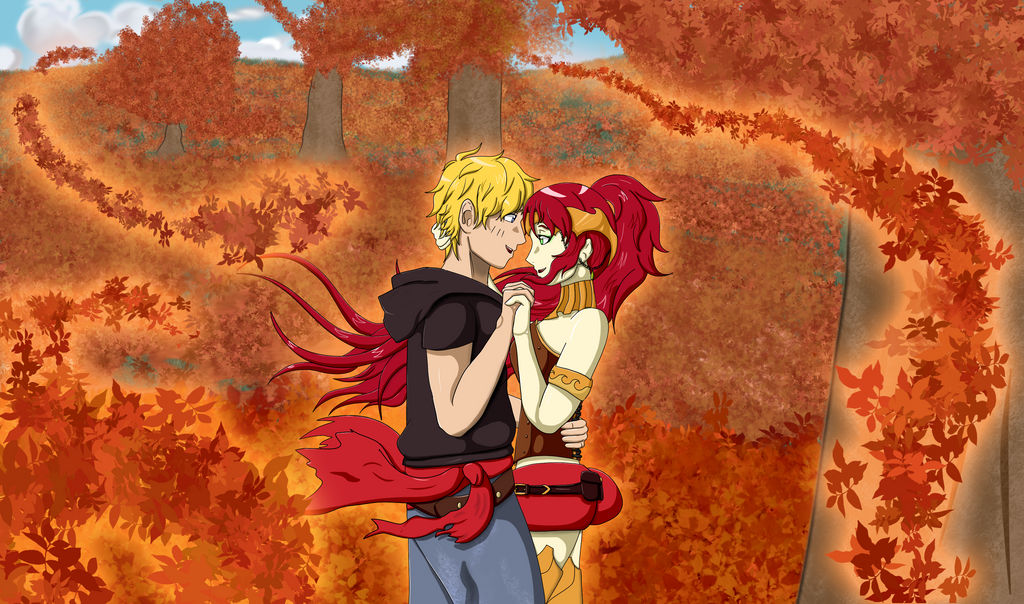 Month of Love - Jaune and Pyrrha - Always with You by