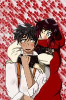 MOL: Oscar and Ruby - RoseGarden by LevairTaivas