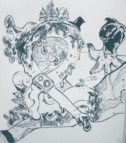 Random Doodle by epicr