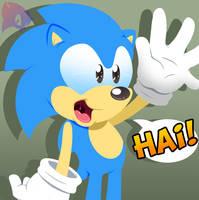 Sonic Sayz HAi by Amuzoreh