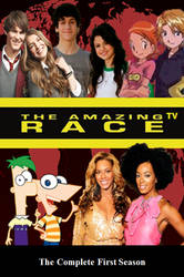 Amazing TV Race 1 DVD Cover by DARealityTV