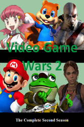 Video Game Wars 2 DVD Cover by DARealityTV