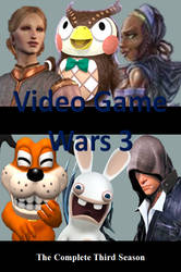 Video Game Wars 3 DVD Cover by DARealityTV