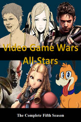 Video Game Wars All-Stars DVD Cover by DARealityTV