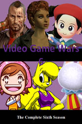 Video Game Wars 6 DVD Cover by DARealityTV