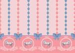 Sweet Lolita Dress Print (Porcelain Ponies)