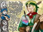 Witcher Valentine: Milva by an-kang