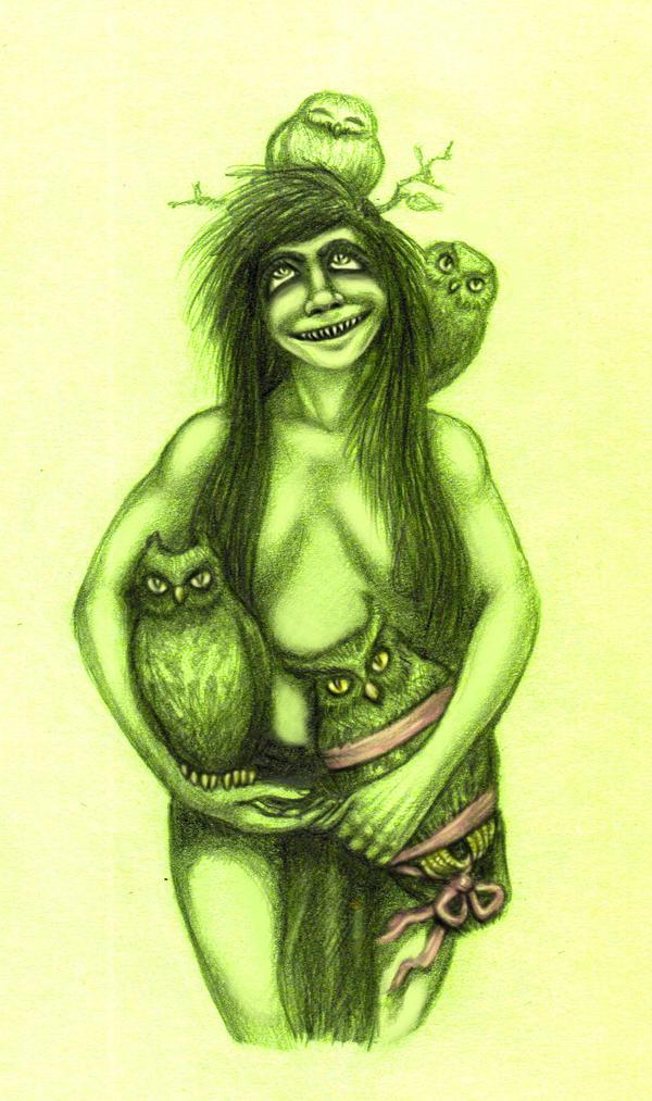 Kiki's Got Some Owls