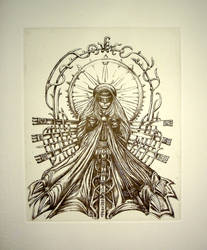 Mater Machina - print by an-kang