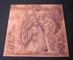 Sanator - etching by an-kang