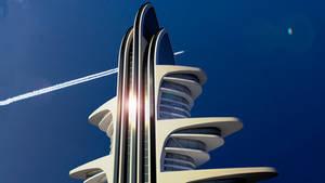 Conceptual Skyscraper Wallpaper Size