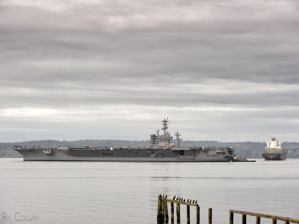 CVN-68 USS Nimitz - 2016-10-05 by ByteStudio