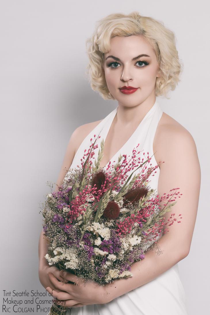 Tint Seattle School shoot - Bridal - Caroline by ByteStudio