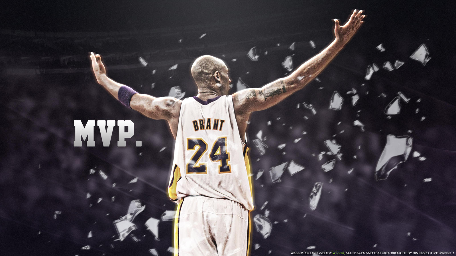kobe bryant mvp by wlera on deviantart