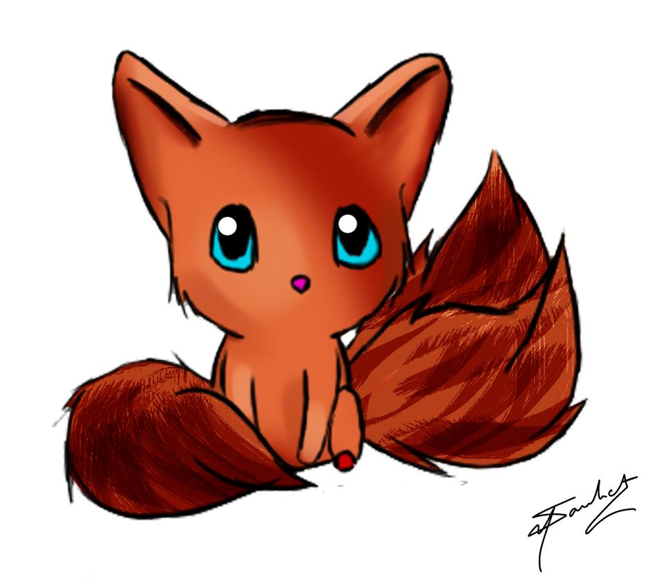 Fox Chibi by SanketN8