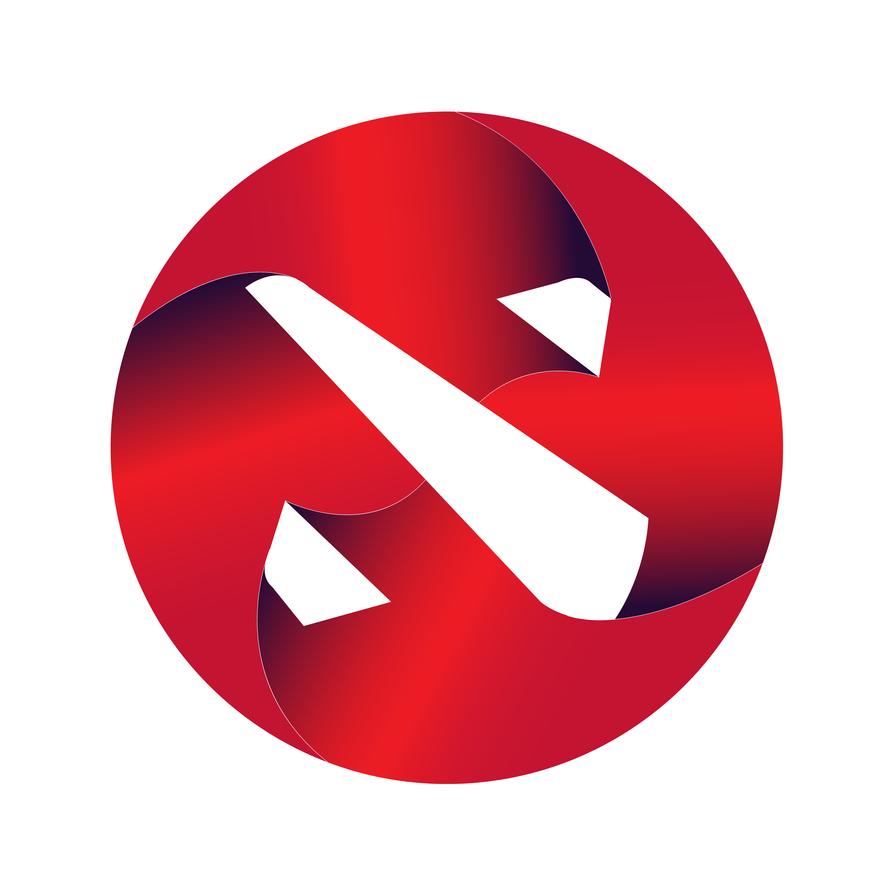 Dota 2 logo by SanketN8