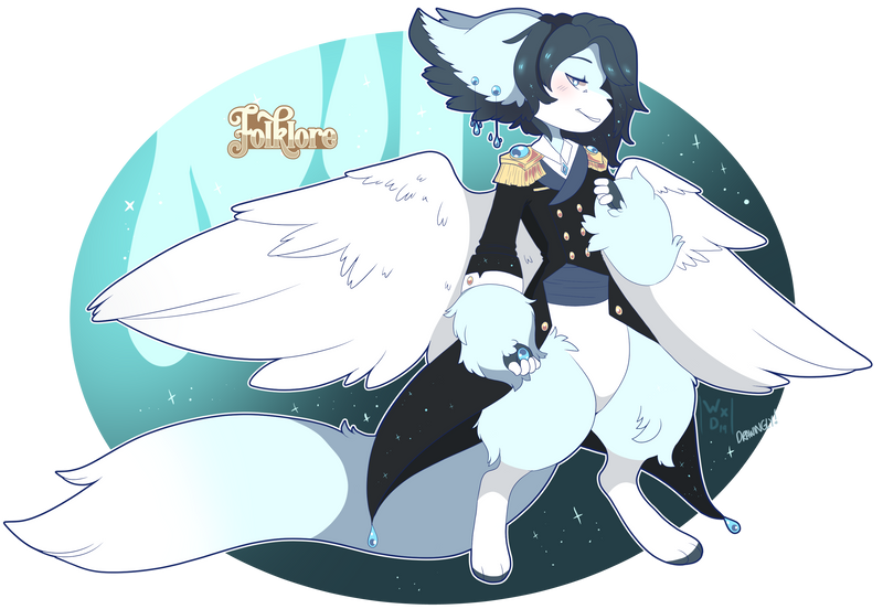 Folklore Auction: Aqua Prince - closed- by DrawinglyWillingly