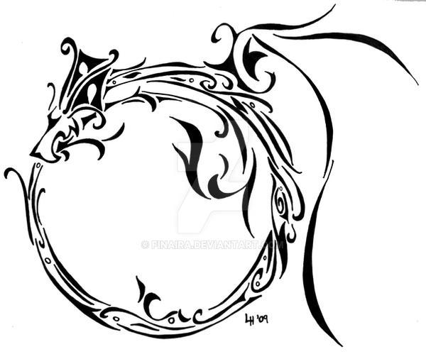 Delicate Ouroboros by Finaira