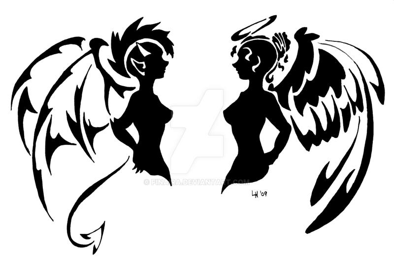 Ange Ou Demon By Finaira On Deviantart