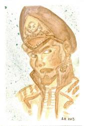 40k Portrait - Commissar Howe