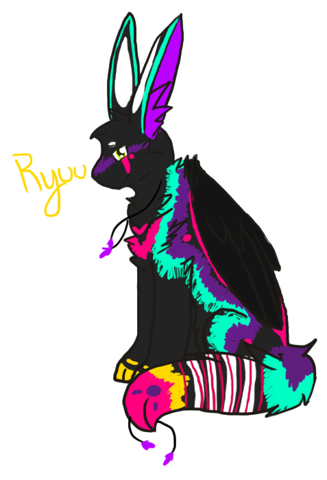 Ryuu ( now up for adoption ) by TLartist