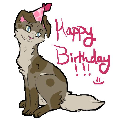 Happy Birthday Bonsai by PurrincessBunbun
