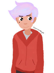 pastel haired marco