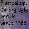 Photoshop - curing ugly by FinalFantesy