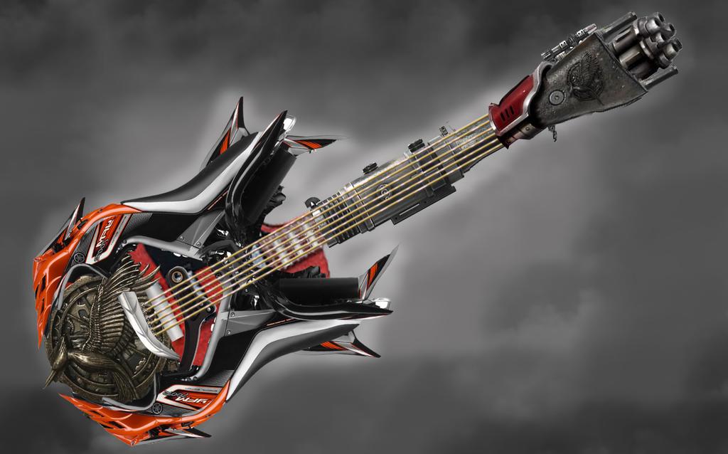 Guitare by Vercyngetorix