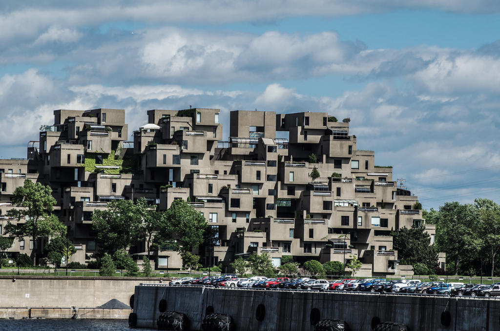 Habitat 67 by bd 76 on deviantart for Habitat 67 architecture