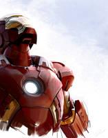 iron man by MaryRiotJane