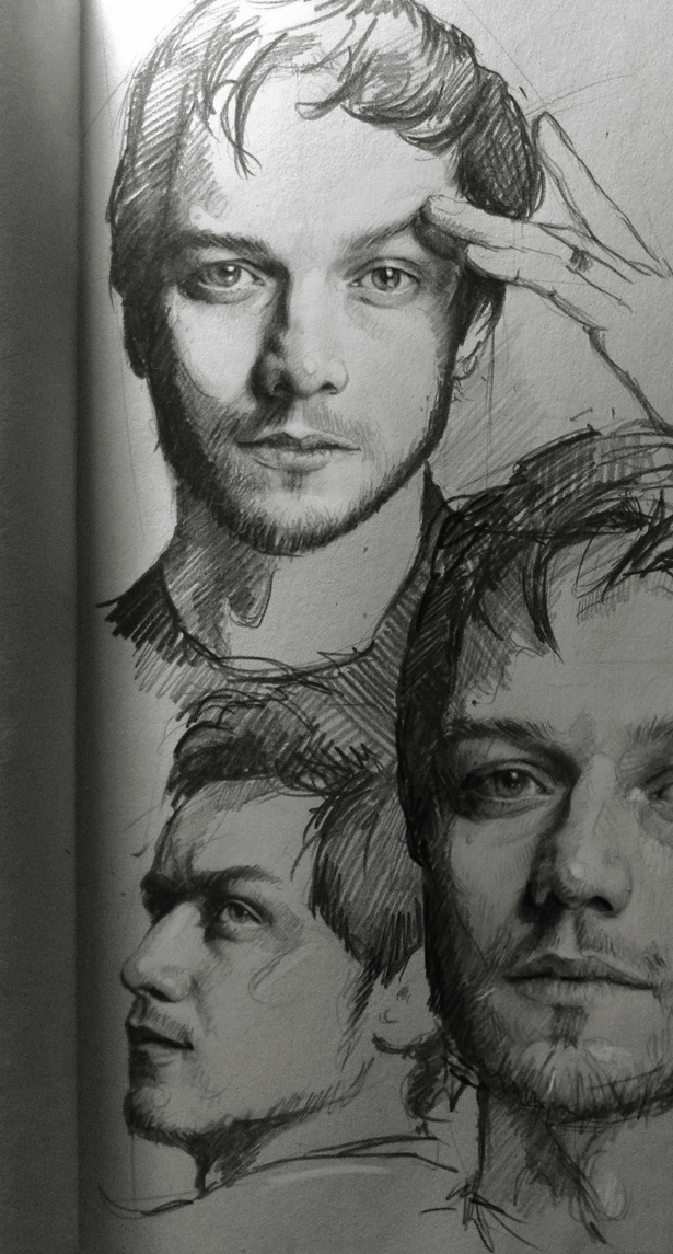 James McAvoy by MaryRiotJane