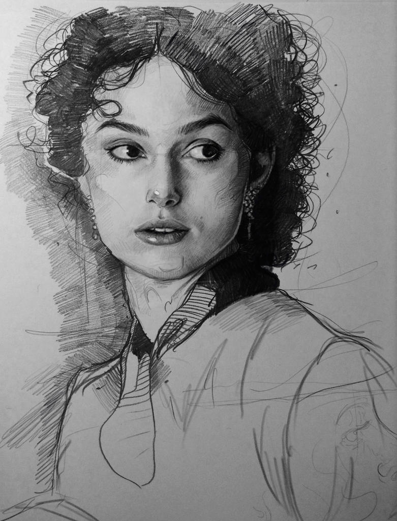 Keira Knightley by MaryRiotJane