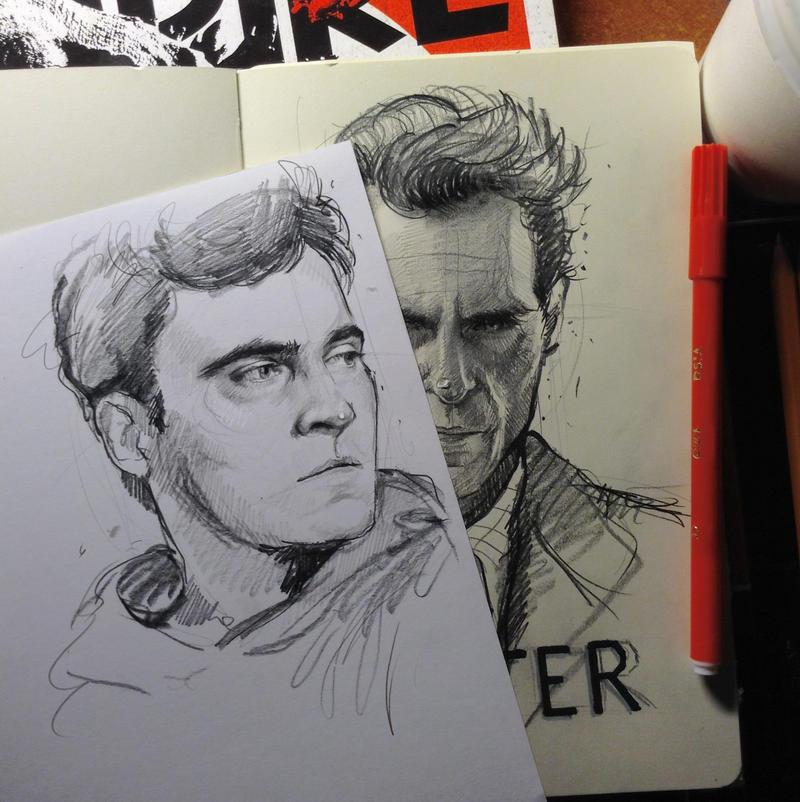 Joaquin Phoenix by MaryRiotJane