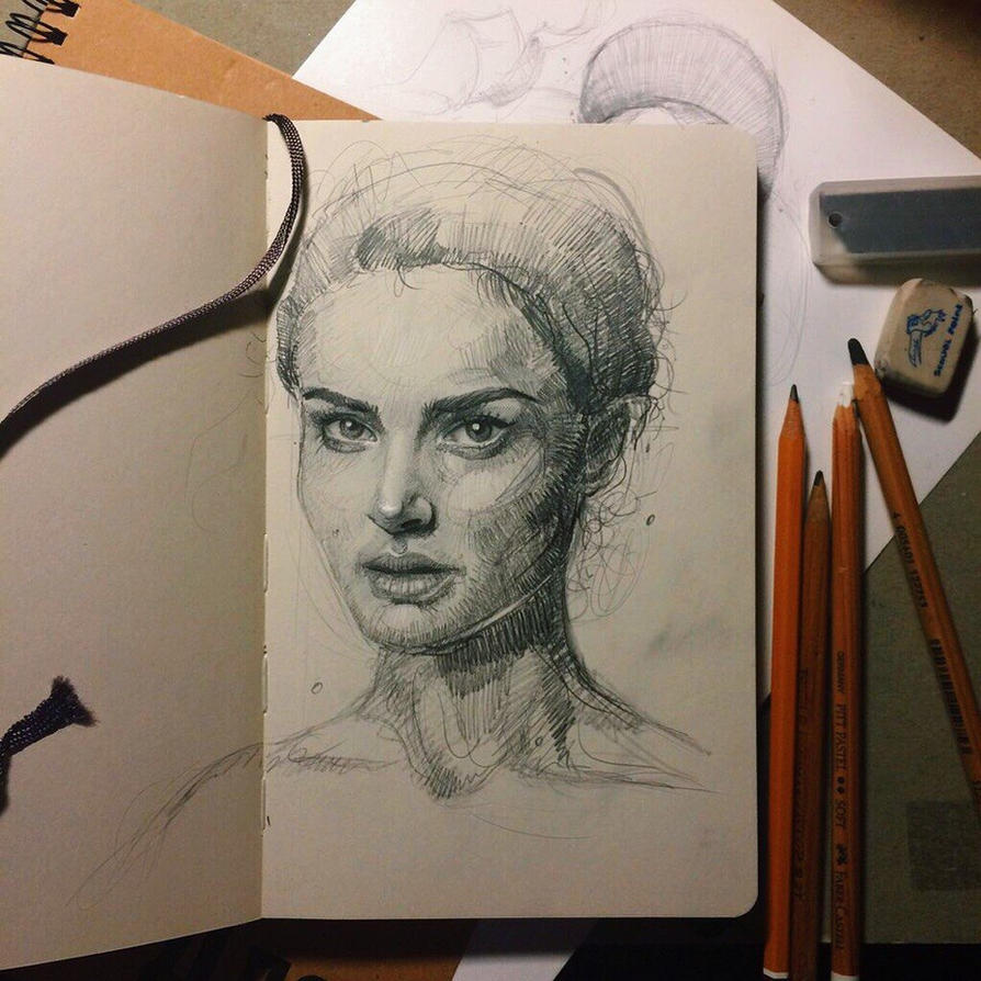 Natalie Portman by MaryRiotJane