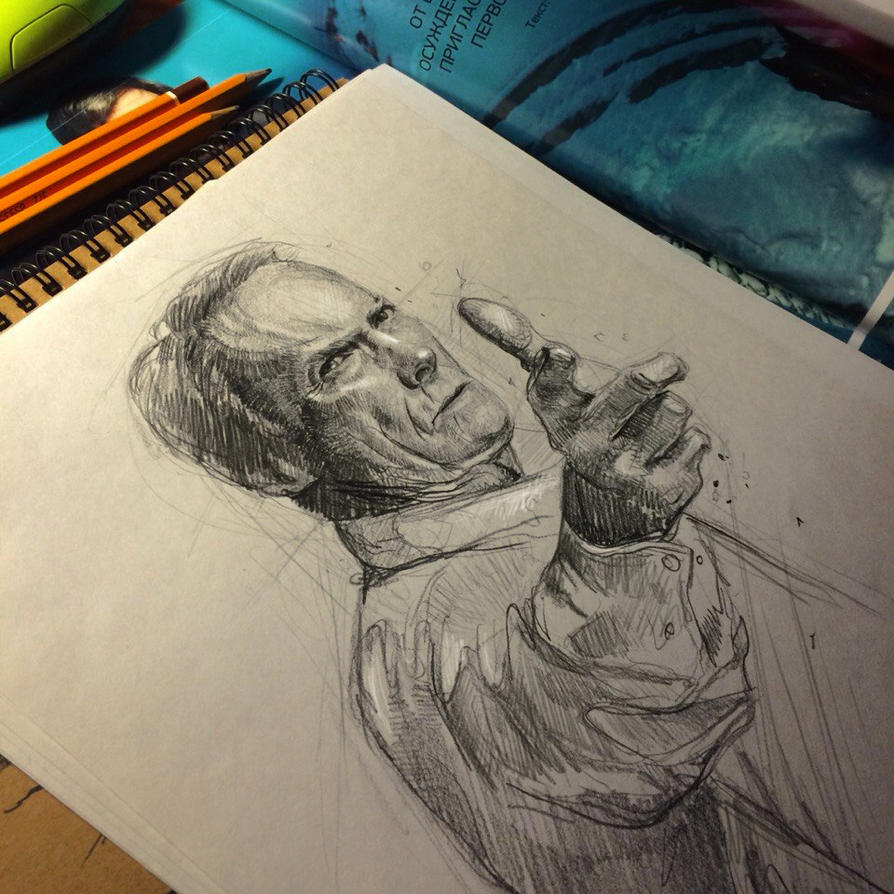 Clint Eastwood (1) by MaryRiotJane
