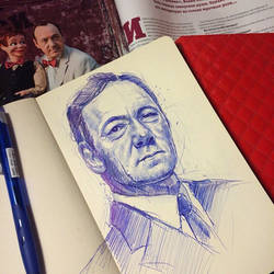 Kevin Spacey by MaryRiotJane